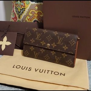 Louis Vuitton Sarah Wallet-used